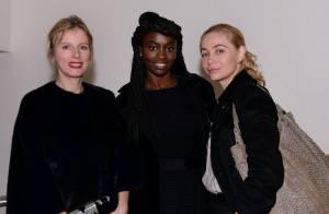 Emmanuelle Béart, Karin Viard et Nikos découvrent BENTU à la Fondation Vuitton