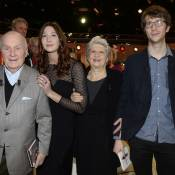 Michel Bouquet entouré de son épouse et ses petits-enfants : Fierté et émotion !