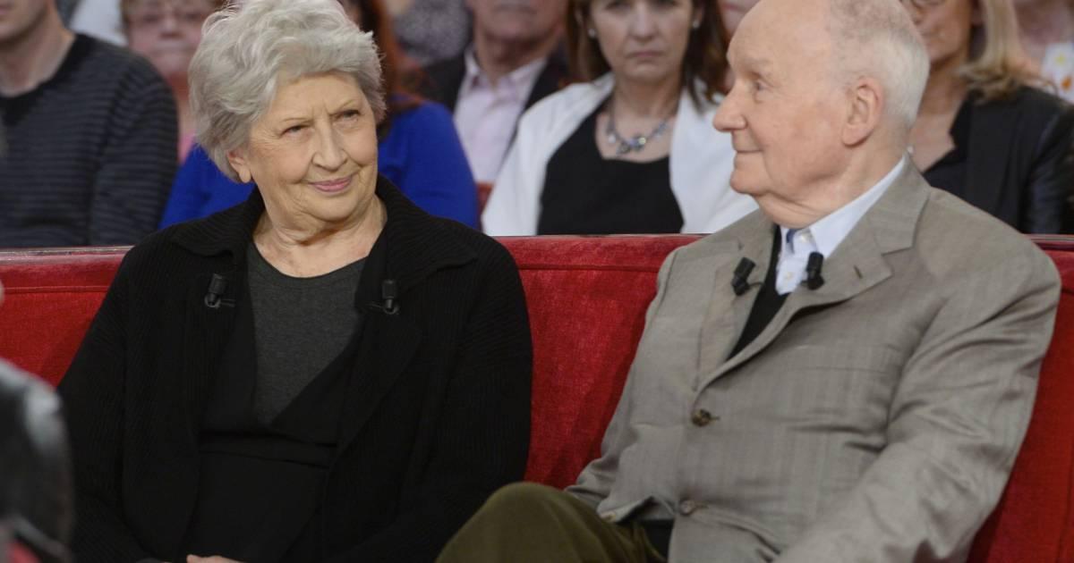 Juliette carr et son mari michel bouquet enregistrement de l 39 mission vivement dimanche - Jeanne mas et son mari ...