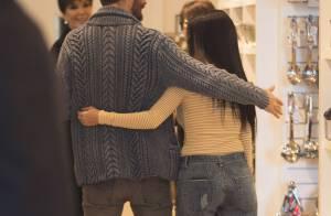 Kourtney Kardashian et Scott Disick : Tendres et complices en sortie shopping