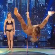 Laury Thilleman intrépide à la pole dance : Sa grosse chute en plein direct...