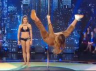 Laury Thilleman intrépide à la pole dance : Sa grosse chute en plein direct...