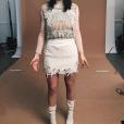 Kylie Jenner porte la nouvelle collection de Kanye West. Elle a assisté au défilé, le 11 février 2016. Photo publiée sur Instagram.