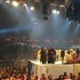 Kris Jenner assiste au défilé de Kanye West. Photo publiée sur Instagram, le 11 février 2016.