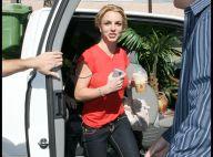 REPORTAGE PHOTOS : Britney Spears joue à cache-cache avec les photographes !