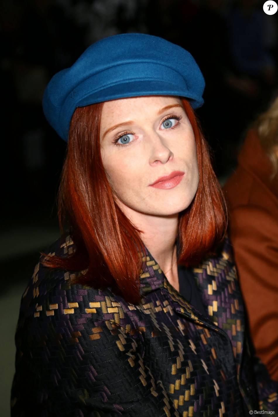 Audrey Fleurot, à Paris le 6 octobre 2015