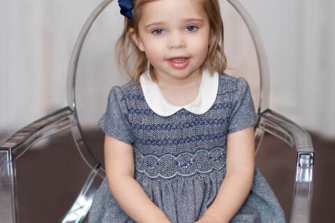 Leonore de Suède : La princesse, adorable, souffle ses 2 bougies...