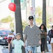 Justin Bieber : À 6 ans, son frère Jaxon fait déjà tout comme lui !