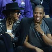 Beyoncé et Jay-Z : Couple tendre et amoureux sur les parquets NBA