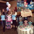 Katherine Webb lors de sa baby-shower organisée avec d'autres femmes de joueurs - Photo publiée le 5 janvier 2016