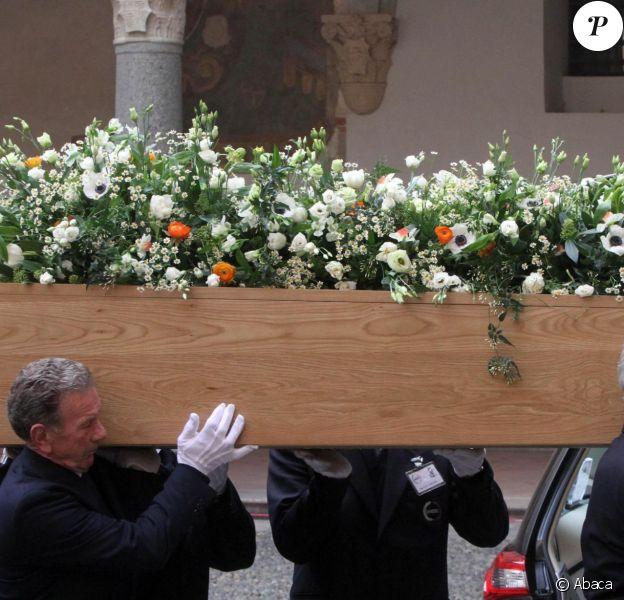 Obsèques d'Umberto Eco à Milan, le 23 février 2016.