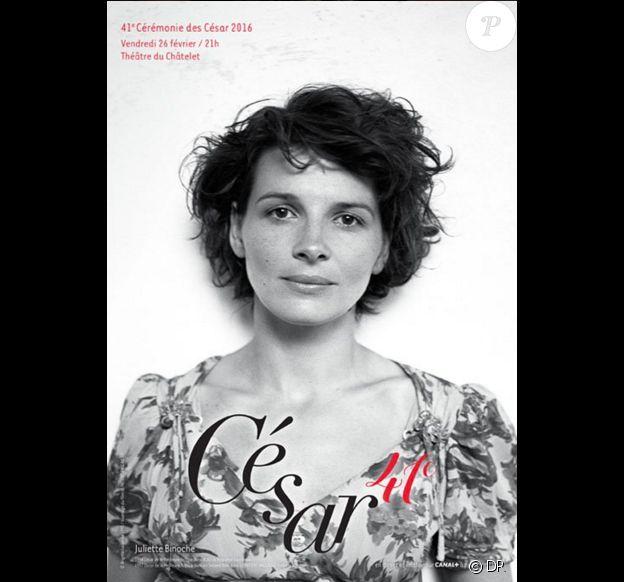 L'affiche de la 41e cérémonie des César qui se déroulera le 26 février 2016