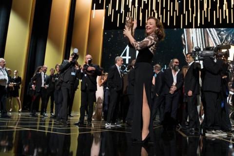 César 2016, la 41e cérémonie : Nouveau prix pour Mélanie Laurent, en larmes