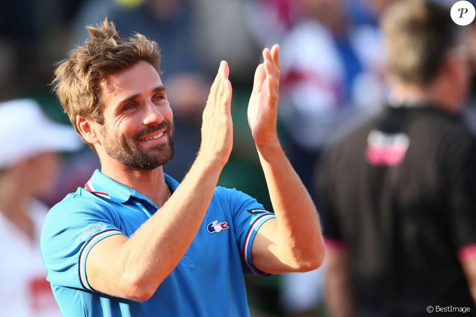 Arnaud cl ment la france a remport la demi finale de la - Arnaud clement coupe davis ...