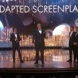 Adam McKay et Charles Randolph, Oscar de la meilleure adaptation pour Le Casse du Siècle.