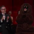 Un ours s'est invité aux Oscars 2016.