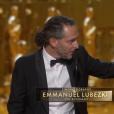 Emmanuel Lubezki, Oscar de la meilleure photographie pour The Revenant. Son 3e Oscar consécutif.