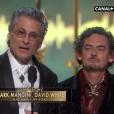 Mark Mangini et David White, Oscar du meilleur montage sonore pour Mad Max : Fury Road