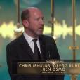 Chris Jenkins, Gregg Redloff et Ben Osmo, Oscar du meilleur mixage sonore pour Mad Max : Fury Road.