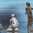 BB8, R2-D2 et C-3PO se tapent l'incruste aux Oscars 2016.