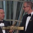 Peter Docter et Jonas Rivera, Oscar du meilleur film d'animation pour Vice Versa.