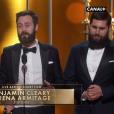 Benjamin Cleary et Serena Armitage, Oscar du meilleur court métrage pour Stutterer