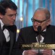 Ennio Morricone, Oscar de la meilleure musique pour Les Huit Salopards.