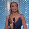 Brie Larson, meilleure actrice pour Room - Cérémonie des Oscars 28 février 2016