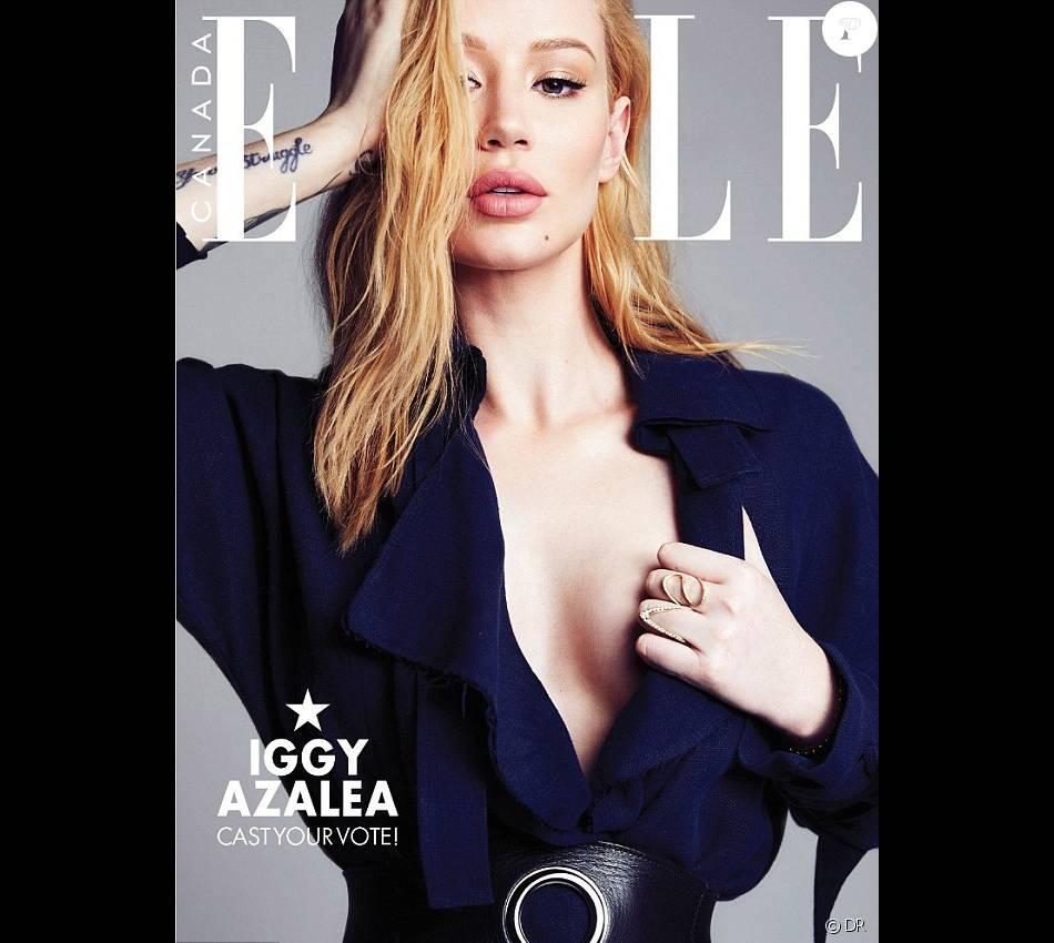 Retrouvez l'intégralité de l'interview d'Iggy Azalea dans l'édition canadienne du magazine Elle.