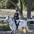 Exclusif - No Web No Blog - Iggy Azalea monte son cheval dans un centre d'équitation à Los Angeles. Le 18 décembre 2015 © CPA / Bestimage 146165, EXCLUSIVE: Iggy Azalea seen riding a horse in Los Angeles. Los Angeles, California - Friday December 18, 2015.18/12/2015 - Los Angeles