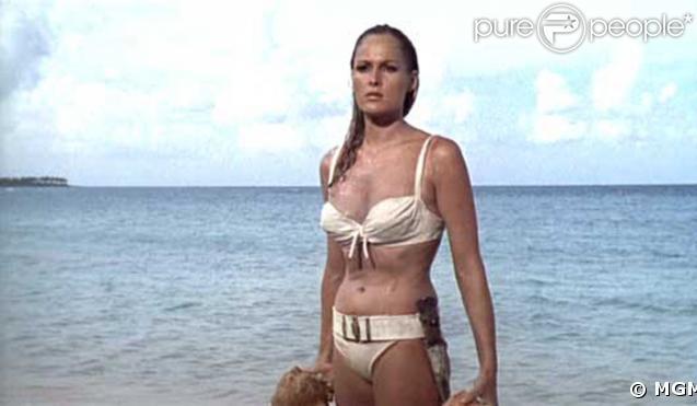 Ursula Andress/James Bond 007 contre Dr. No en 1962