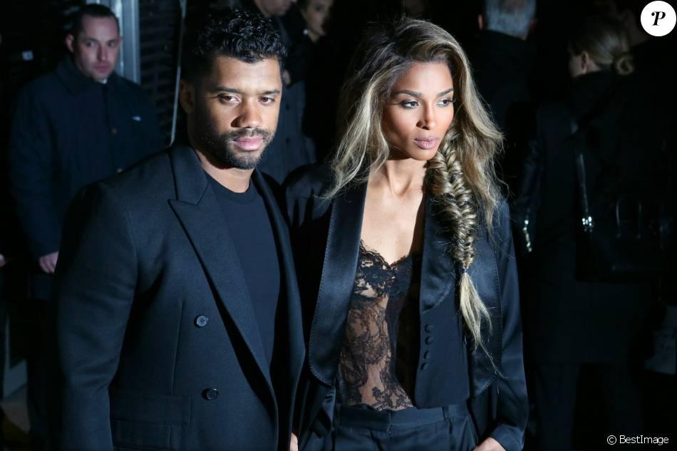 Russell Wilson Paris Fashion Week