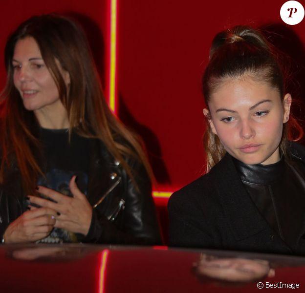 """Véronika Loubry et sa fille Thylane Blondeau à la soirée """"L'Oréal Paris Red Obsession Party"""" à Paris le 8 mars 2016. © CVS-Veeren/Bestimage"""