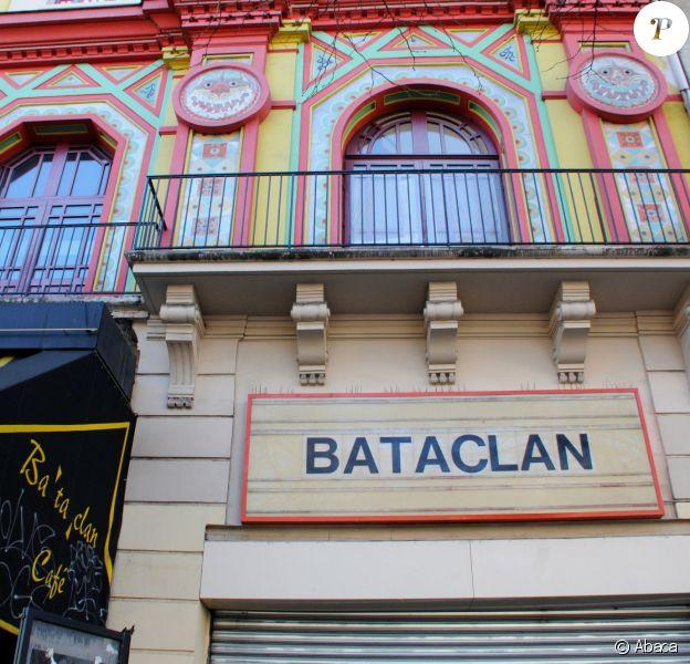 Une vue du Bataclan le 16 février 2016.