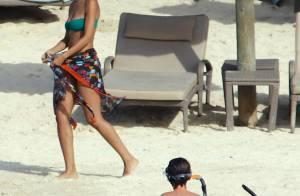 Sonia Rolland : Sculpturale en bikini et maman joueuse avec ses filles