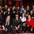 Etienne Daho et les 10 finalistes à la conférence de presse du Prix Constantin