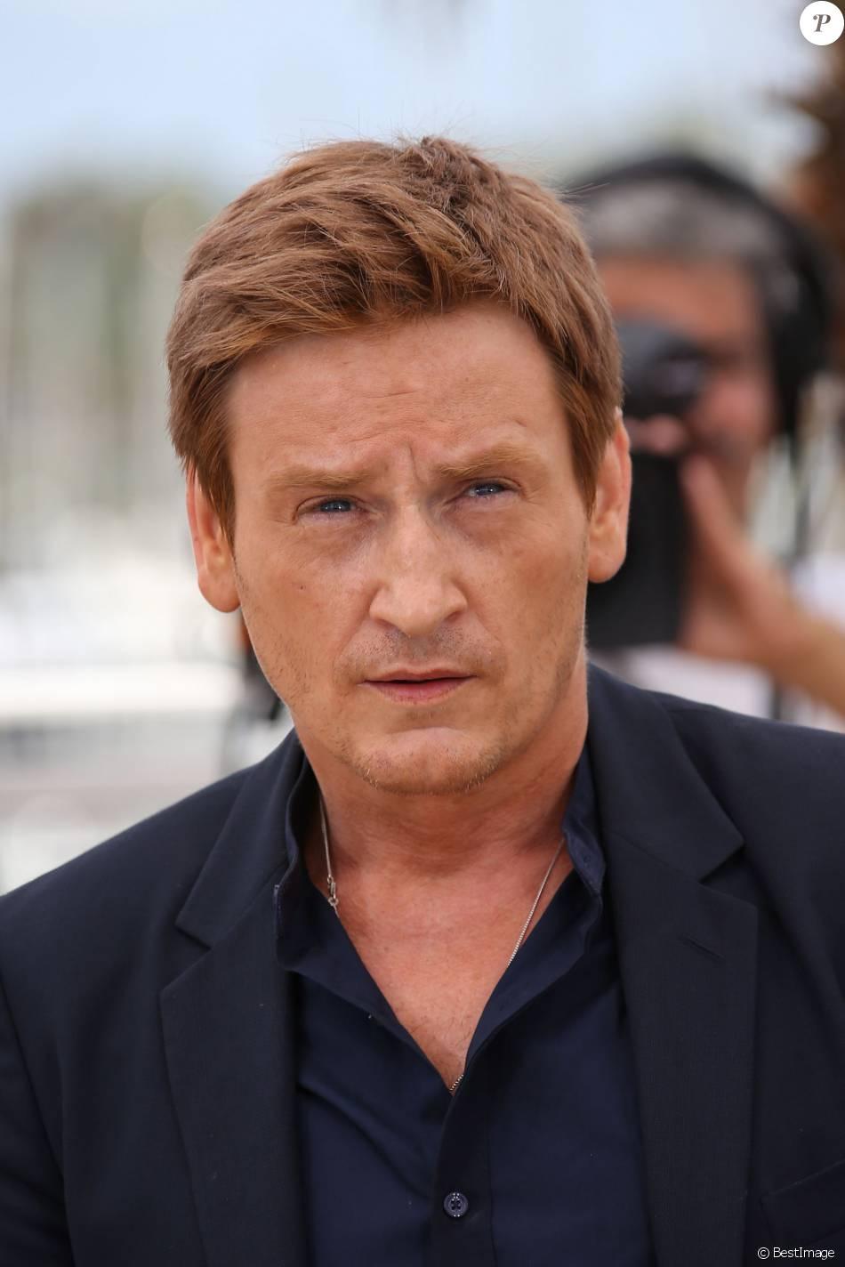 """Benoît Magimel - Photocall du film """"La tête haute"""" (hors compétition) lors du 68e festival de Cannes le 13 mai 2015."""