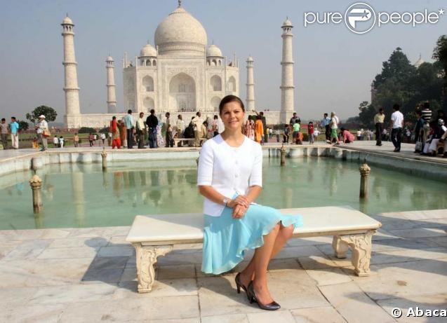Victoria de Suède poursuit son périple en Inde