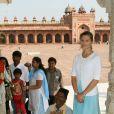 La princesse Victoria de Suède en Inde, au Taj Mahal