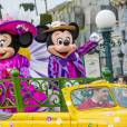 Disneyland Paris s'habille aux couleurs du Printemps. Mars 2016