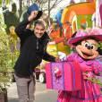 François Vincentelli - Disneyland Paris s'habille aux couleurs du Printemps. Mars 2016