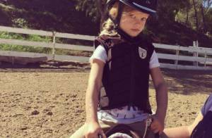 Jessica Simpson : Sa fille Maxwell, 3 ans, apprentie cavalière