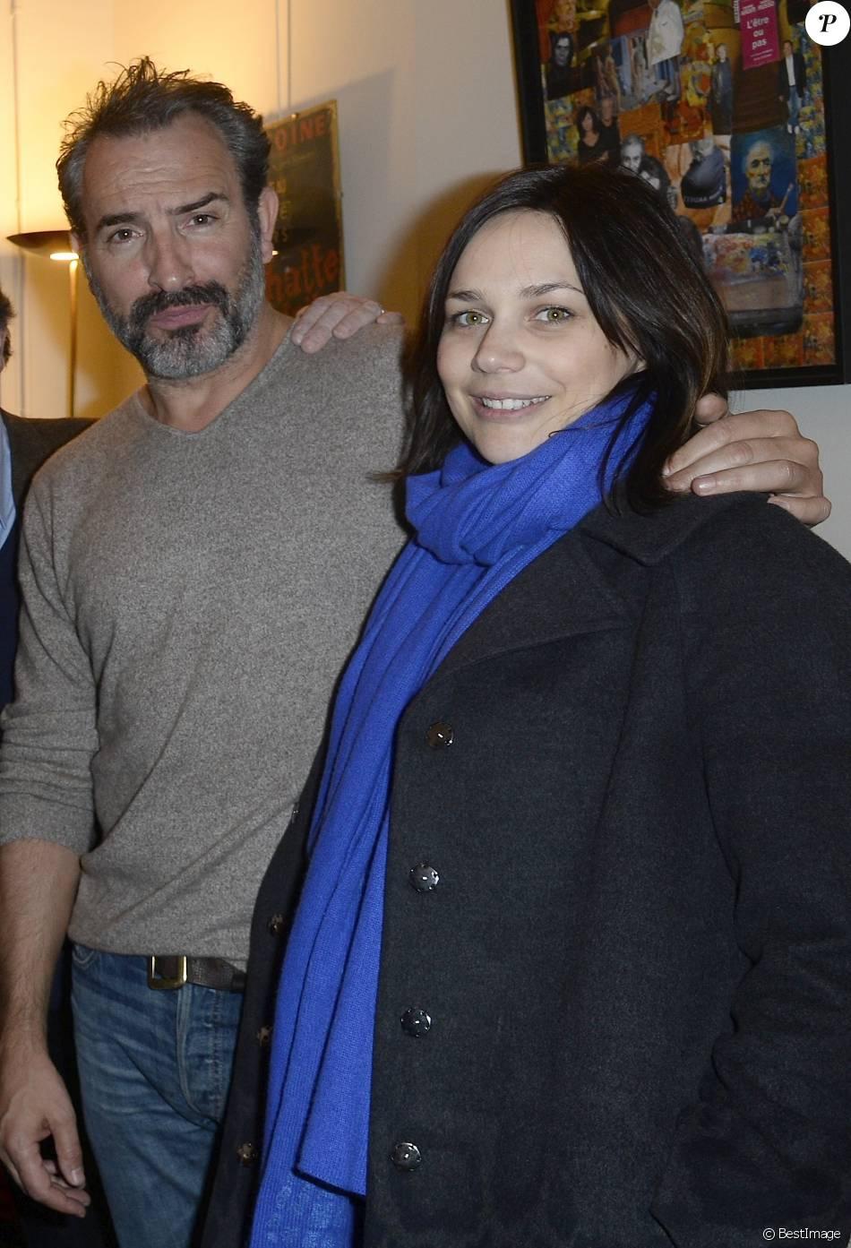 Jean dujardin et sa compagne nathalie p chalat people for Nathalie pechalat et jean dujardin