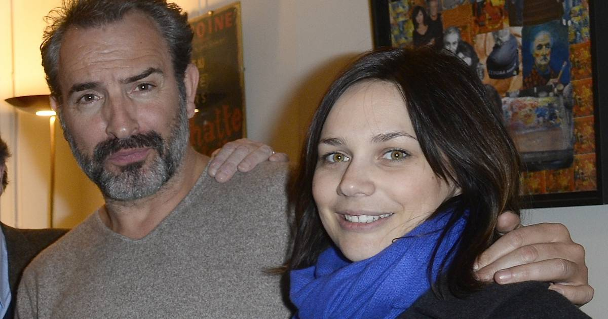 Jean dujardin et sa compagne nathalie p chalat people for Compagne de jean dujardin