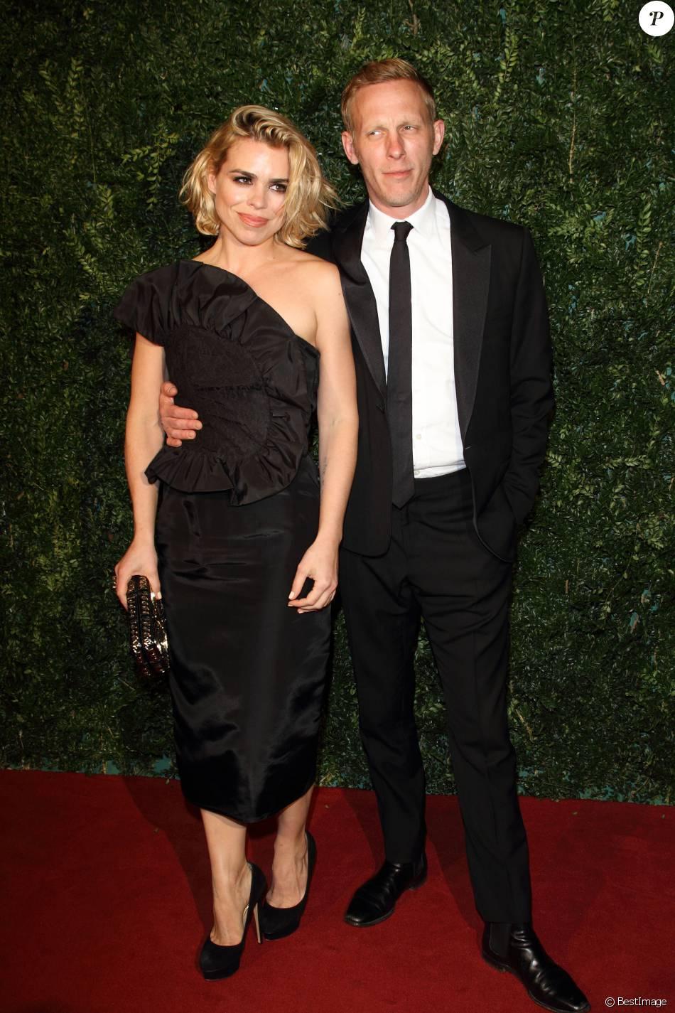 """Billie Piper et son mari Laurence Fox à la Soirée """"Evening Standard Theatre Awards"""" à Londres le 30 novembre 2014."""