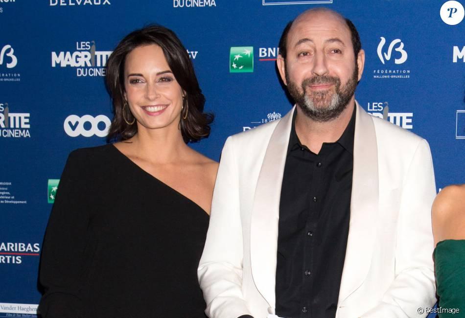 Kad Merad et sa compagne Julia Vignali - 6e édition de la cérémonie des Magritte du cinéma à Bruxelles en Belgique le 6 février 2016.