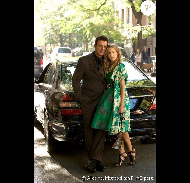 Sex and the City - le film, avec Chris Noth et Sarah Jessica Parker.