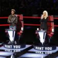 Pharrell Williams, Adam Levine, Christina Aguilera et Blake Shelton sont les coaches et juges de la saison 10 de The Voice. Photo publiée le 29 février 2016.