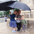 Les trois enfants du couple que forment James Van Der Beek et sa femme Kimberly / photo postée sur Instagram.