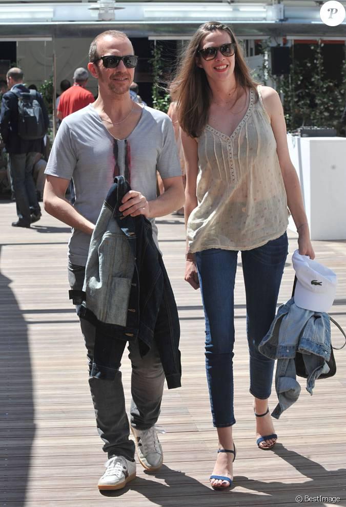 Calogero et sa compagne marie bastide le 6 juin 2014 paris - Stephane marie et sa compagne ...